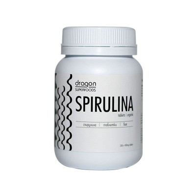 Spirulina comprimidos