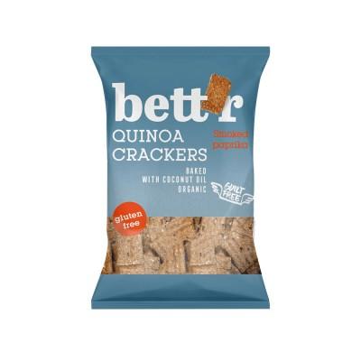 Cracker Quinoa con Pimenton