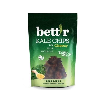 Chips Kale con Keso