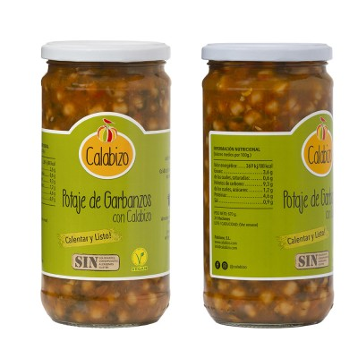 Garbanzos con Calabizo 720ML