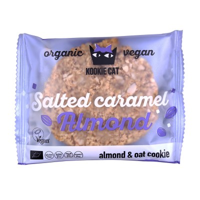 Kookie Cat Almendra Caramelo Salado