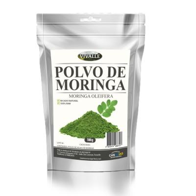 Moringa Polvo Vivalle
