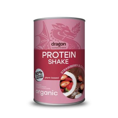 Batido Proteina Fresa Coco
