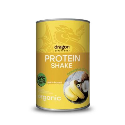 Batido Proteina Platano Coco