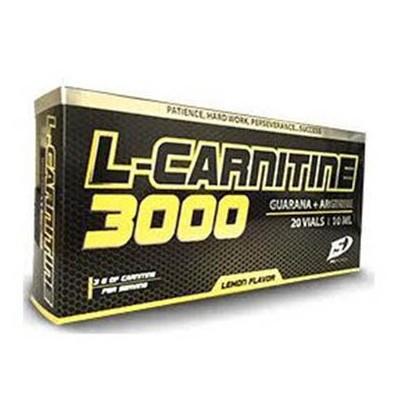 L-Carnitina 3.000MG Limon Viales
